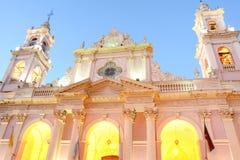 旧金山大教堂萨尔塔省的 免版税库存照片