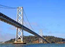 旧金山奥克兰海湾桥梁 库存图片