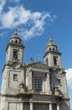 旧金山女修道院在Santiago de Compostela 免版税库存图片