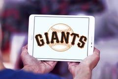 旧金山巨人棒球队商标 库存图片