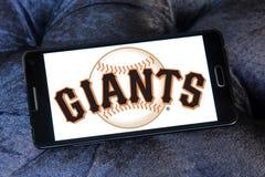 旧金山巨人棒球队商标 免版税库存照片