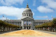 旧金山市政厅大厦 图库摄影