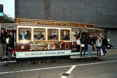 旧金山市政铁路台车 免版税库存图片