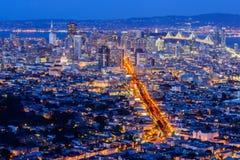 旧金山市 库存照片
