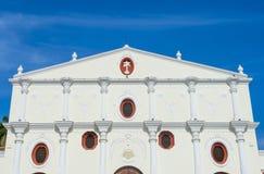 旧金山教会在格拉纳达尼加拉瓜 库存照片