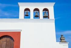 旧金山教会在格拉纳达尼加拉瓜 免版税库存图片