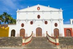 旧金山教会在格拉纳达尼加拉瓜 库存图片