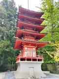 旧金山日本茶园 免版税库存图片