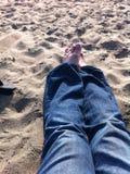 旧金山沙子 库存照片