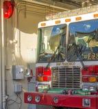 旧金山消防车 库存图片