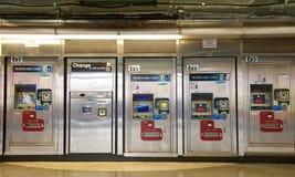 旧金山湾区捷运系统,男爵机器,旧金山 图库摄影
