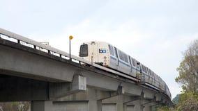 旧金山湾区捷运系统,男爵, Fruitvale路线 免版税库存照片
