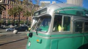 旧金山电车 免版税库存照片