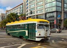 旧金山电车 图库摄影