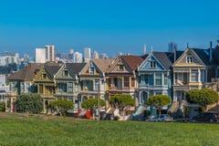 旧金山的被绘的夫人 免版税库存图片
