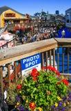 旧金山码头39照片斑点 免版税图库摄影