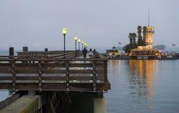 旧金山码头39 免版税库存图片