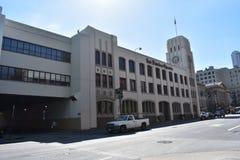 旧金山纪事报报纸出版的大厦, 3 免版税库存图片