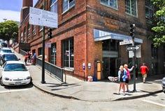 旧金山缆车博物馆 库存照片