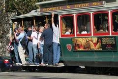 旧金山缆车 免版税库存图片
