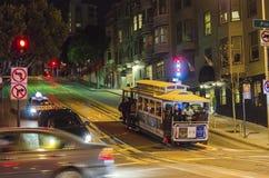 旧金山缆车 库存图片