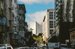 旧金山美国银行大厦 库存图片