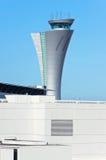 旧金山航空交通管制塔 免版税库存图片