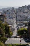 旧金山著名街道 库存照片