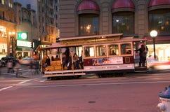 旧金山街道汽车 库存照片