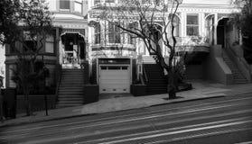 旧金山街道  图库摄影