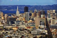 旧金山都市风景天 免版税图库摄影