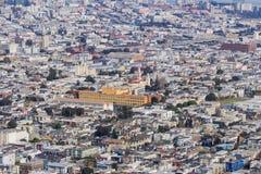 旧金山,加利福尼亚密集地居住于的地区鸟瞰图  库存图片