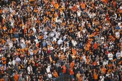 旧金山,加利福尼亚,美国, 2014年10月16日, AT&T停放,棒球场, SF巨人对圣路易斯主教,全国Leag 图库摄影