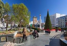 旧金山,加利福尼亚,美国-联合广场旧金山,加利福尼亚,美国 库存照片