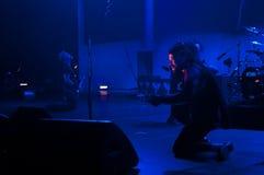 Metallica在Moscone中心2011年 免版税库存图片