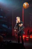 Metallica在Moscone中心2011年 库存图片