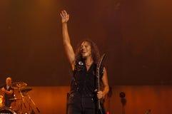 Metallica在Moscone中心2011年 图库摄影