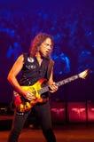 Metallica在Moscone中心2011年 免版税库存照片