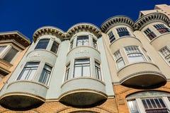 旧金山,加利福尼亚建筑学  免版税库存图片