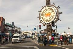 旧金山,美国-旧金山Fishermans码头  库存图片