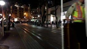 旧金山,美国-缆车电车 股票录像