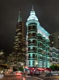 旧金山,美国-老维多利亚女王时代的房子 免版税图库摄影
