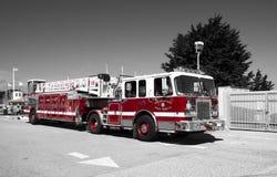 旧金山, 2017年4月15日, -旧金山部门消防车,加利福尼亚, 2017年 图库摄影