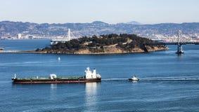 旧金山财宝海岛 库存图片