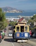 旧金山-缆车电车 免版税库存照片