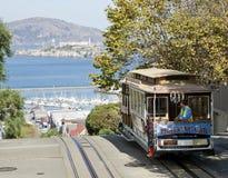 旧金山-缆车电车 图库摄影