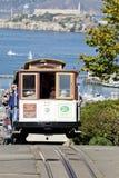 旧金山-缆车电车 库存图片