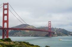 旧金山-金门大桥 免版税库存图片