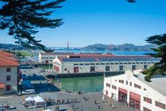 旧金山` s堡垒泥工 图库摄影