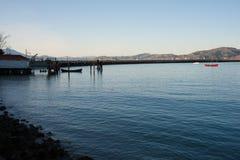 旧金山` s水生公园小海湾 库存图片